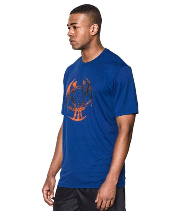 Under Armour Men's Future Icon Graphic Basketball T-Shirt, Cobalt/Academy