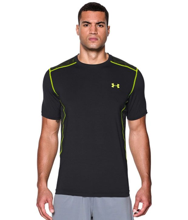 Under Armour Men's Raid T-Shirt, Bolt Orange/Red