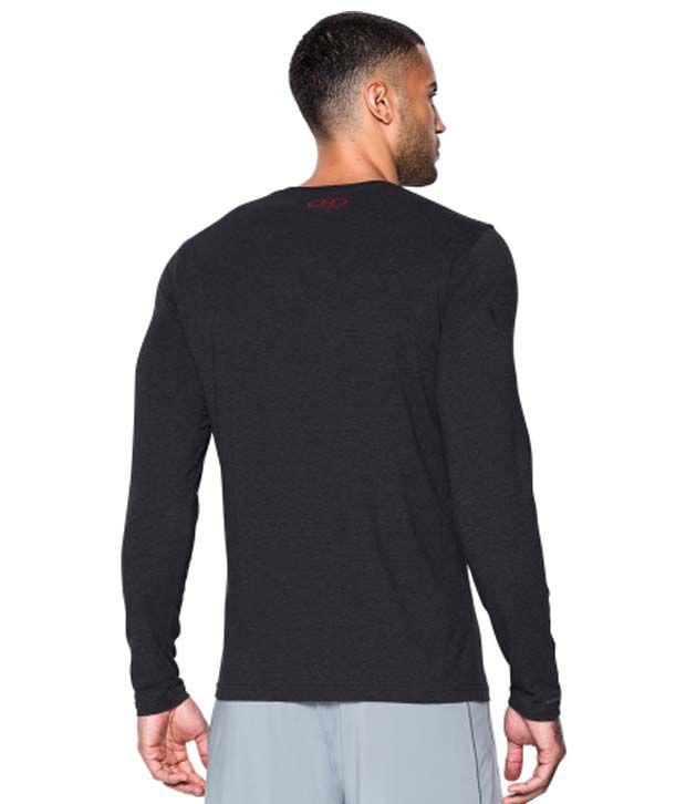 Under Armour Men's Sportstyle Long Sleeve Shirt, True Gray Heather/Cobalt