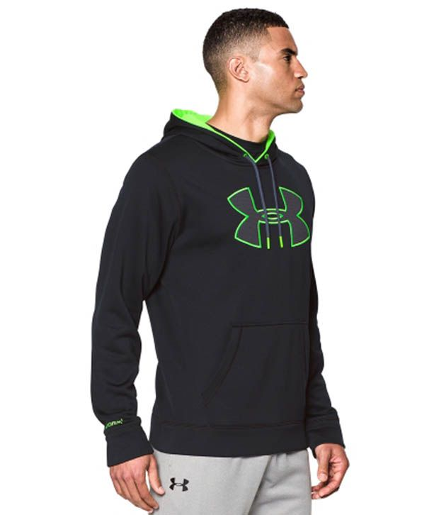Under Armour Men's Storm Armour Fleece Big Logo Hoodie Graphite/Black