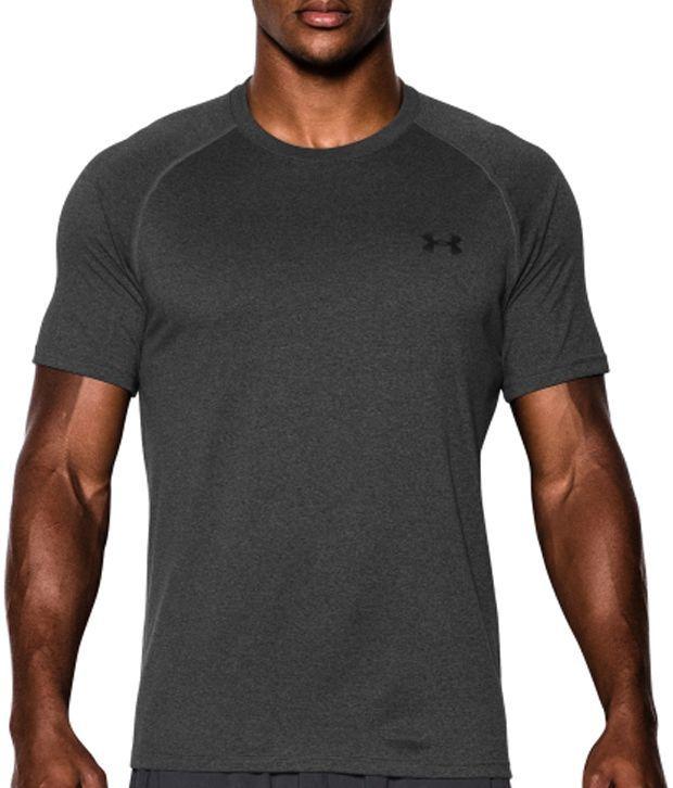 Under Armour Men's Tech II T-Shirt, Dark Orange