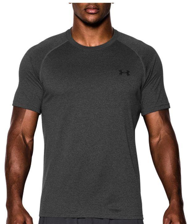 Under Armour Men's Tech II T-Shirt, High-vis Yellow/Graphite