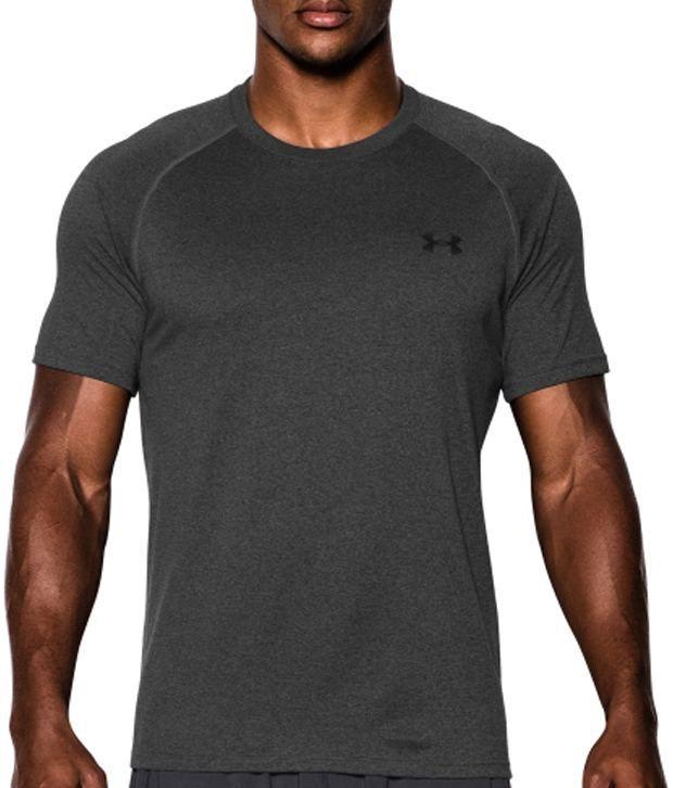 Under Armour Men's Tech II T-Shirt, True Grey Heather