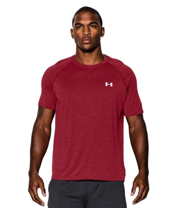 Under Armour Men's Twist Tech Short Sleeve Shirt, Black/Green Energy
