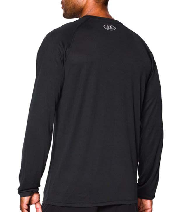 Under Armour Under Armour Men's Run Big Logo Long Sleeve Shirt, Black/graphite