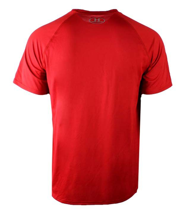 Under Armour Under Armour Men's Tech Atl Split Graphic T-shirt, Red/white