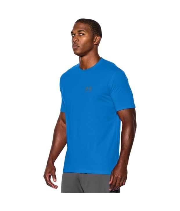 Under Armour Under Armour Men's Charged Cotton Sportstyle T-shirt, Legion Blue/steel