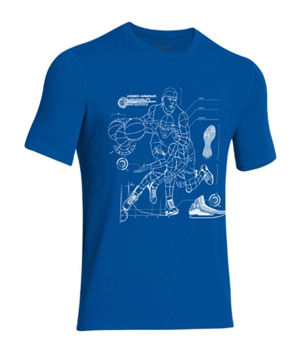 Under Armour Under Armour Men's The Blueprint Basketball Graphic T-shirt, Scatter/white