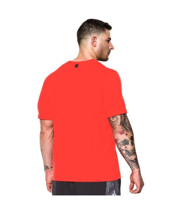 Under Armour Under Armour Men's Combine Training Snake Bite Graphic T-shirt, Bolt Orange
