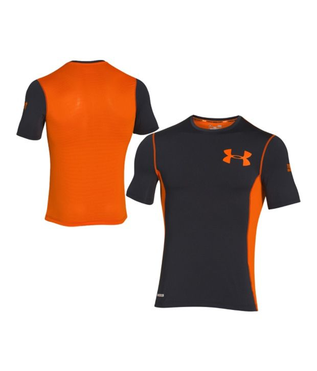 Under Armour Under Armour Men's Tough Mudder Obstacle Fitted Short Sleeve Shirt , Vivid/black/black