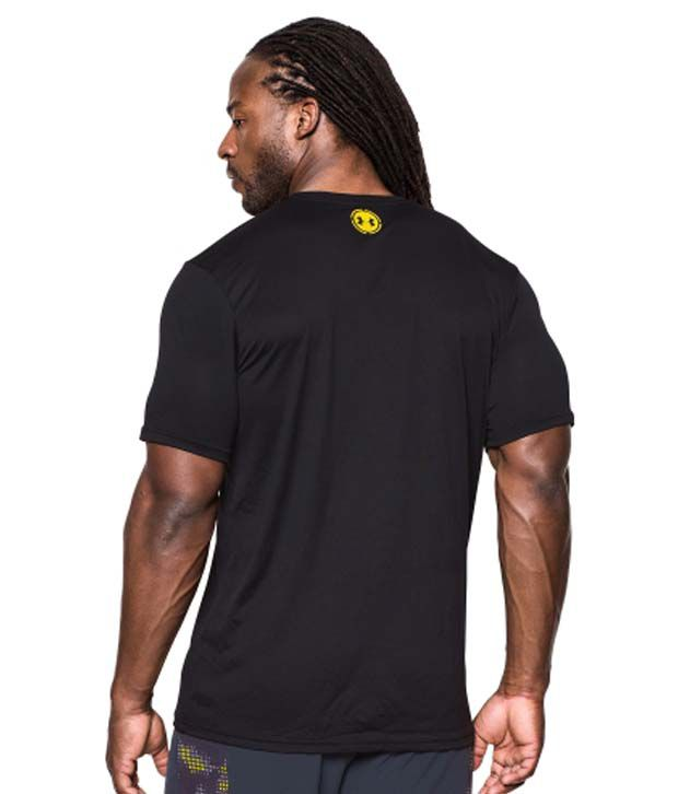Under Armour Under Armour Men's Combine Training Ignite The Fight Graphic T-shirt, Black/sunbleached