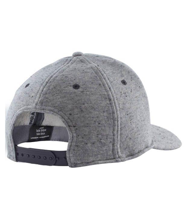 Under Armour Under Armour Men's Quilted Snapback Hat, Amalgam Grey