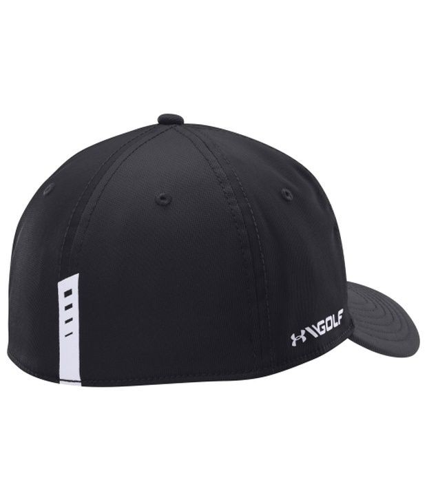 Under Armour Under Armour Men's Fairway Low Crown Stretch Golf Hat, Black