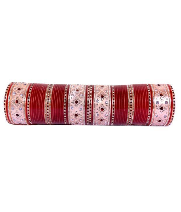 Shadi Bazaar Red Bridal Chura
