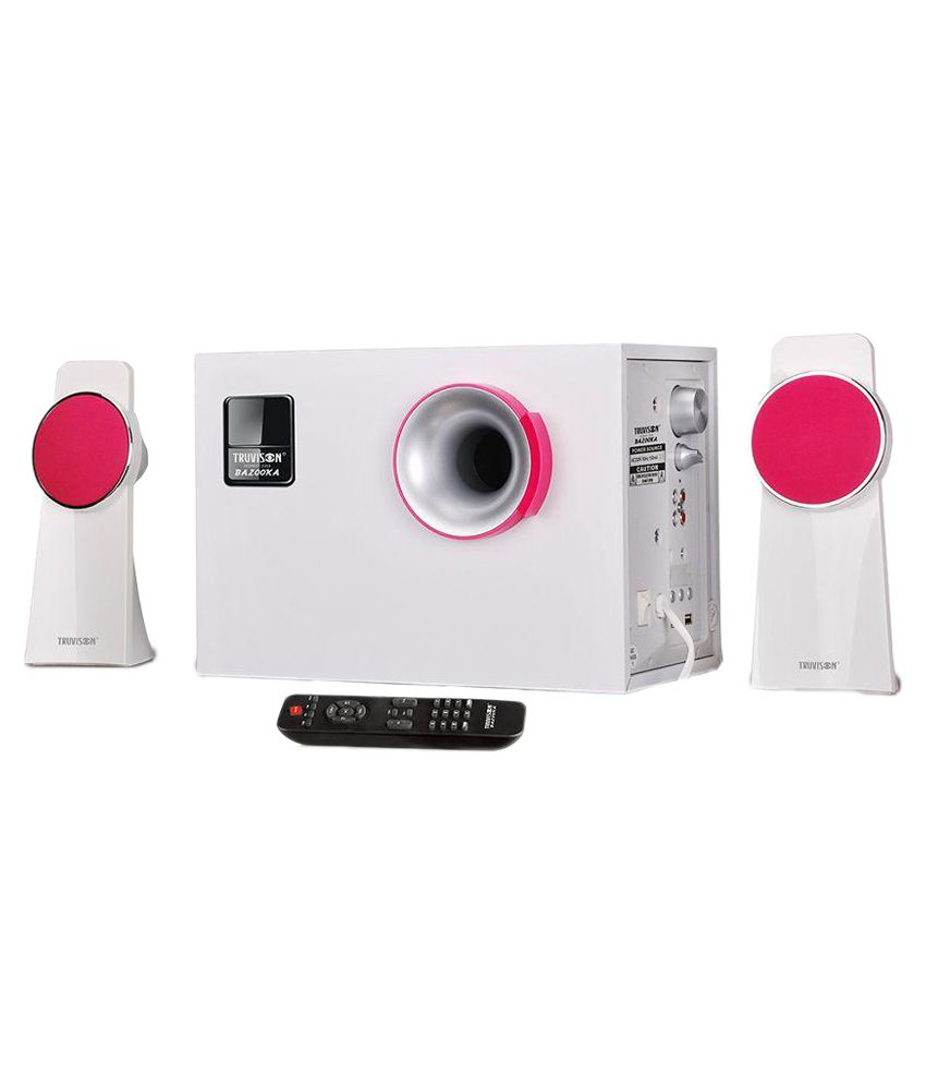 Truvison Bazooka 5000W 2.1 Multimedia Speaker System