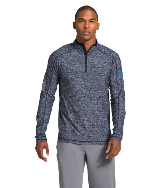 Under Armour Under Armour Men's Elevated Ultimate Quarter Zip Long Sleeve Shirt, Royal/midnight Navy