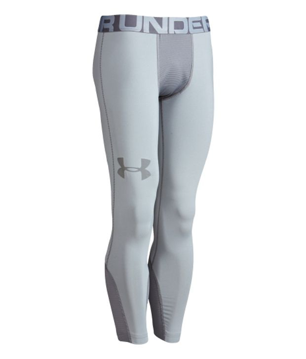 Under Armour Under Armour Men's Combine Training Three-quarter Length Tights, Black/black/volcano