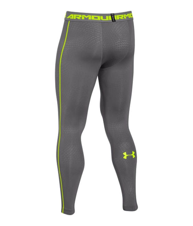 Under Armour Under Armour Men's Heatgear Armour Printed Compression Leggings, Black/island Blues