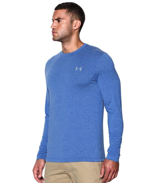 Under Armour Under Armour Men's Coldgear Infrared Crewneck Sweatshirt, Stealth Gray/hyper Green