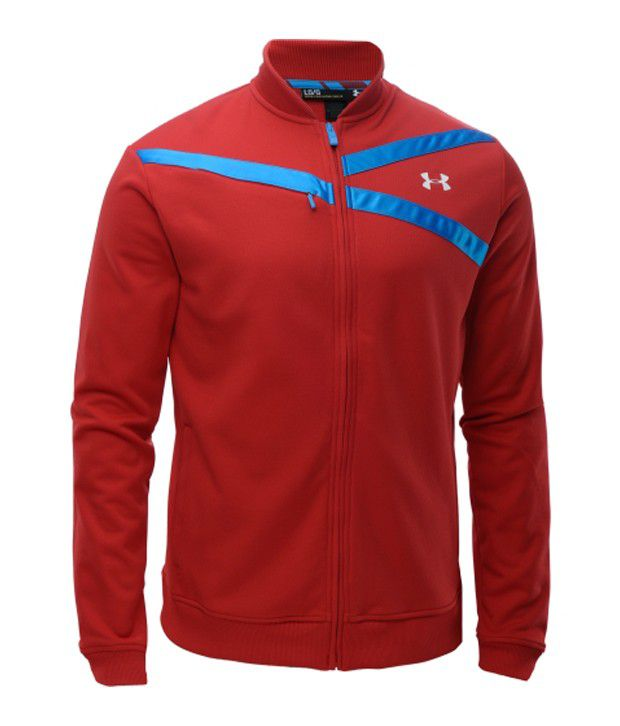 Under Armour Under Armour Men's Str8t Ballin' Basketball Jacket, Red
