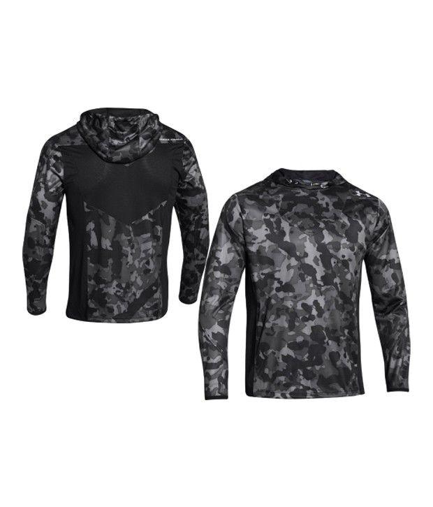Under Armour Under Armour Men's Undeniable Heatseeker Shooting Hooded Long Sleeve Shirt, Black/graphite/steel