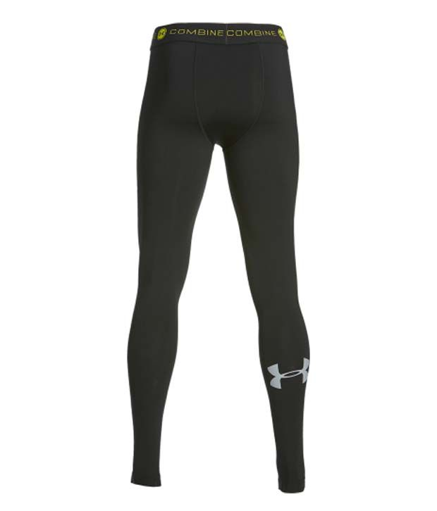 Under Armour Under Armour Men's Combine Training Heatgear Armour Compression Leggings, Black/steel