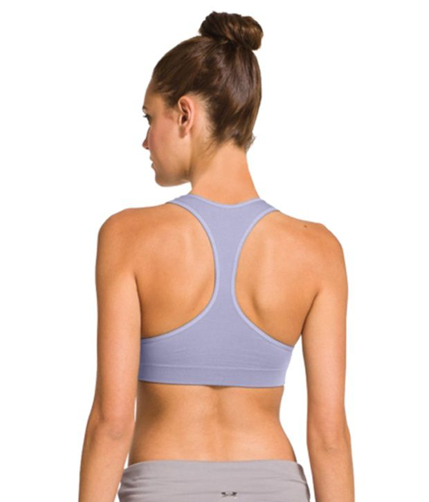 Under Armour Under Armour Women's Seamless Plunge Sports Bra, Flash Light/flash Light