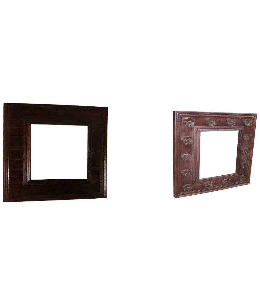 Om Vinayak Arts Mango Wooden Photo Frame set of 2 : Buy Om Vinayak ...
