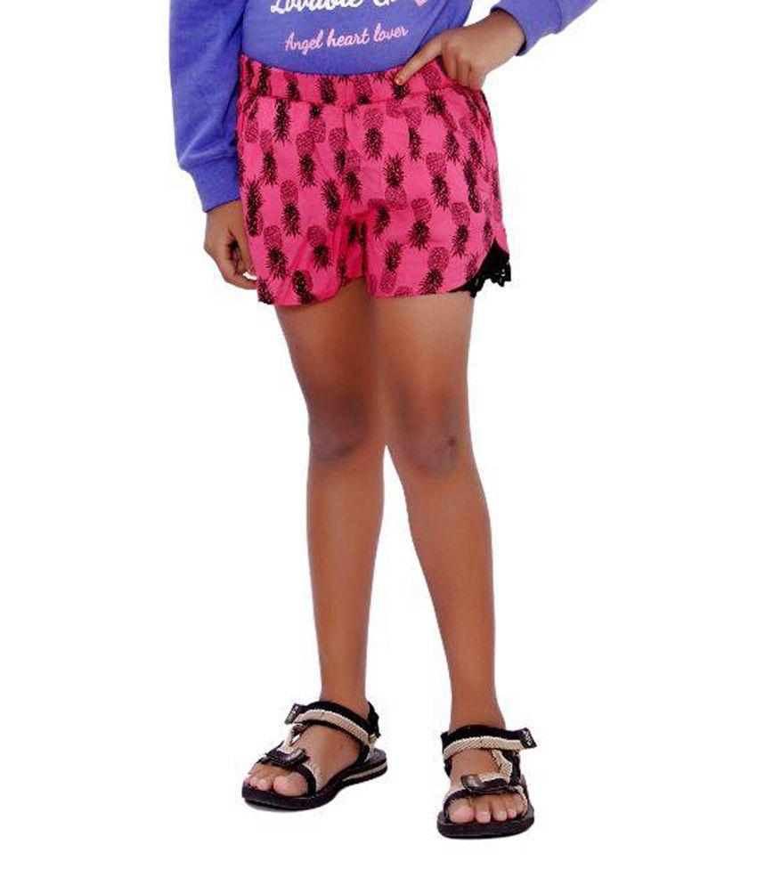 SML Originals Pink Rayon Shorts