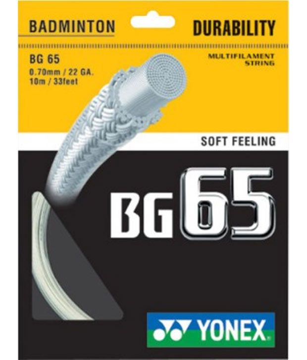 Yonex Bg 65 Vlt Badminton Strings