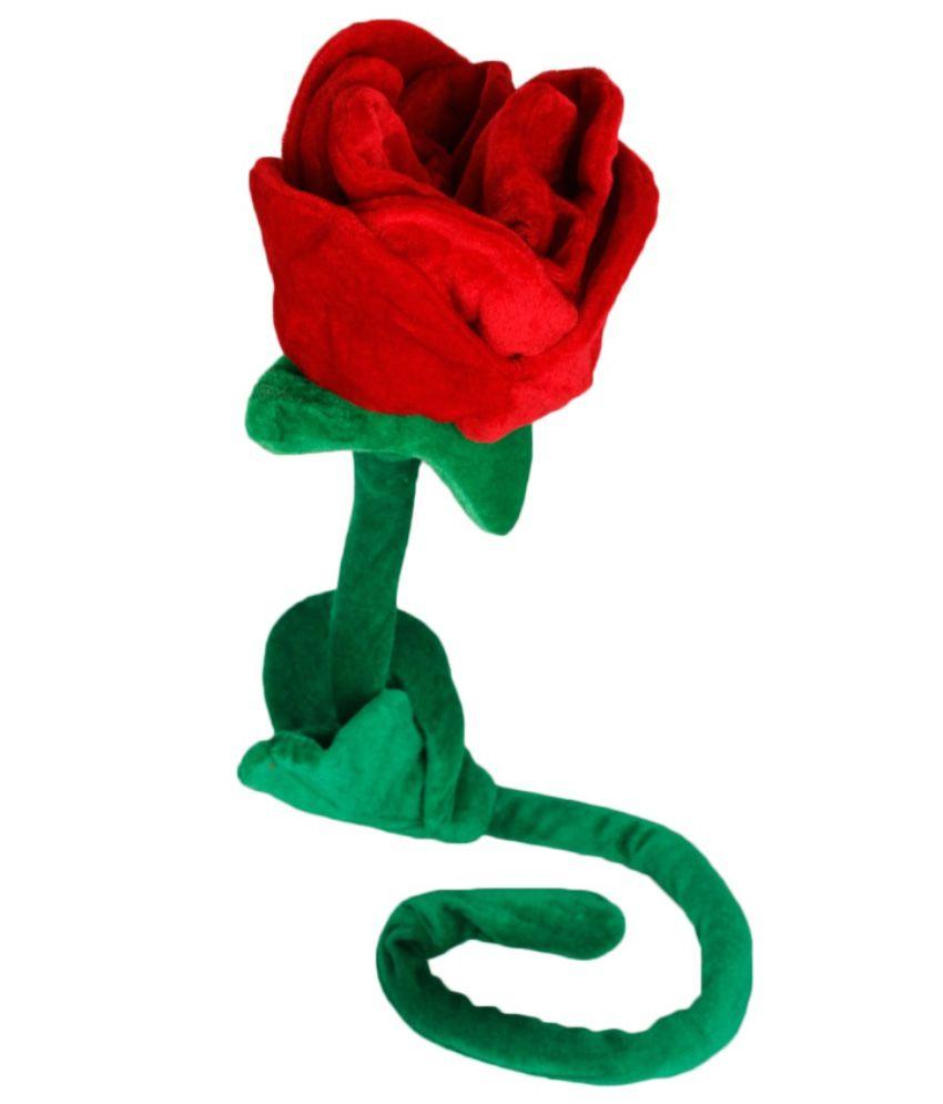 Dayzee Red Beautiful Rose Stuffed Toy 70cm
