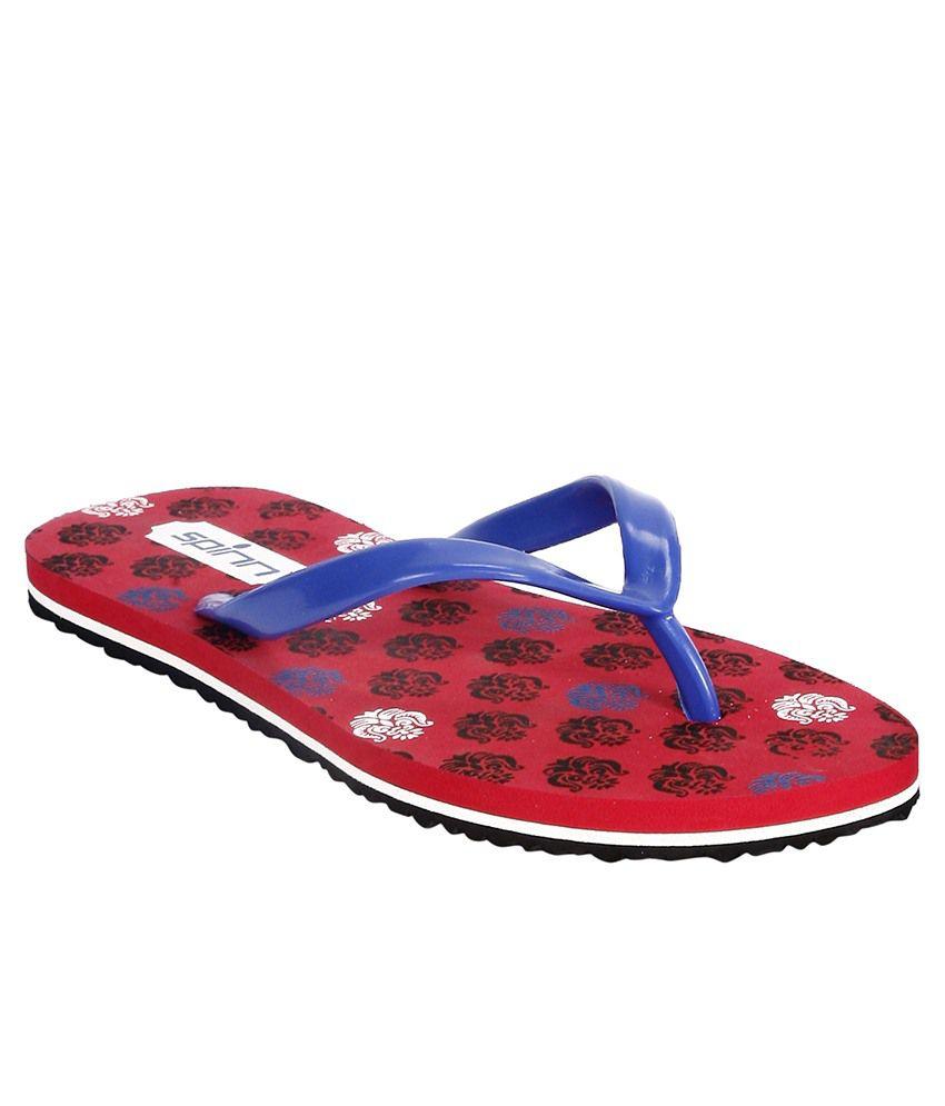Spinn Blue Flip Flops