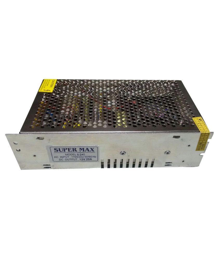 Hi Tech S-240 Power Supply For Cctv Camera Price in India