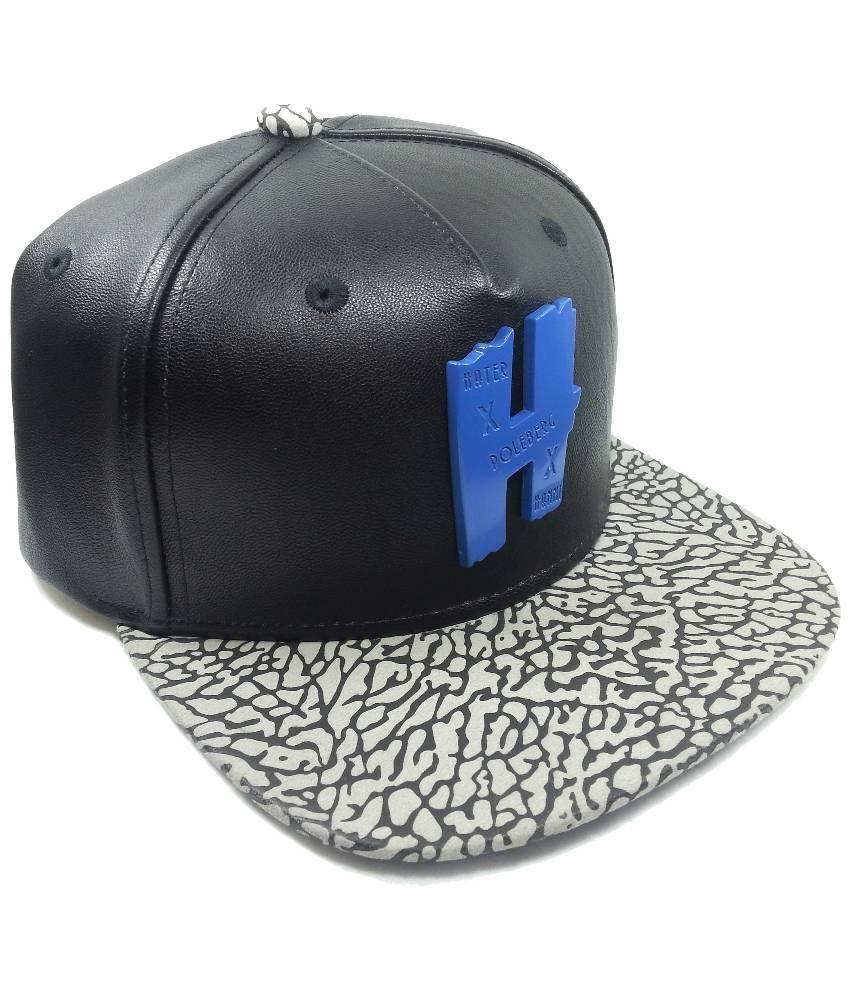 Hater Snapback Black Polyester Hip-Hop Cap - Buy Online   Rs.  8655c27327a