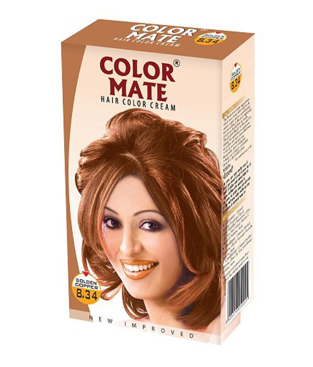 Luxury Copper Gold Hair Color