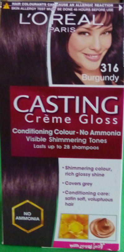 buy loreal paris casting creme gloss hair color plum 316 get a trendy pouch free - Gloss Color L Oral Professionnel