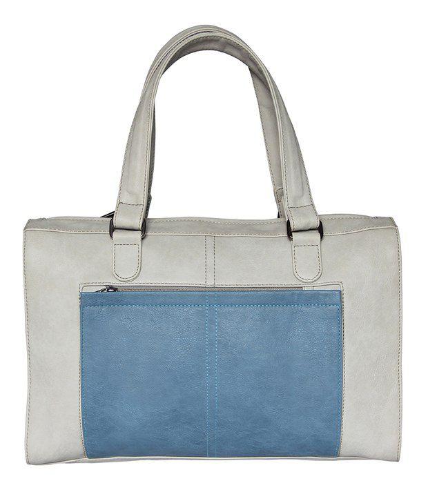 Mohawk White And Blue Messenger Bag
