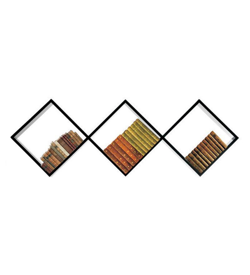 Decor India Craft Black Wooden Shelf Buy Decor India Craft Black Wooden Shelf At Best Price In