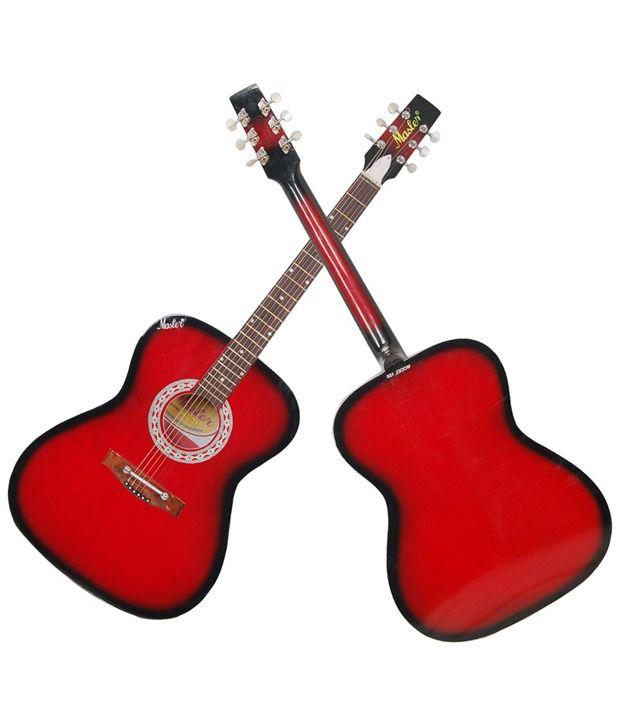 Signature Gogos 265 Topaz Series Acoustic Guitar w/cut w/Eq  Red