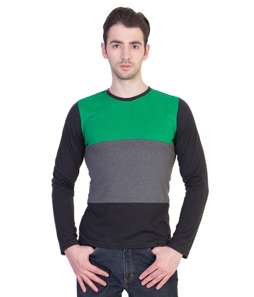 14 Forty Multicolour Cotton T Shirt