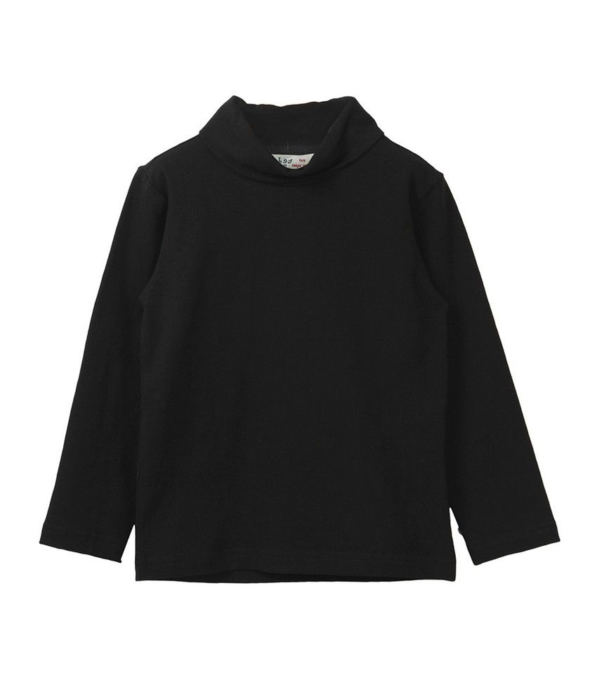 Beebay Black Blended Cotton Sweatshirt