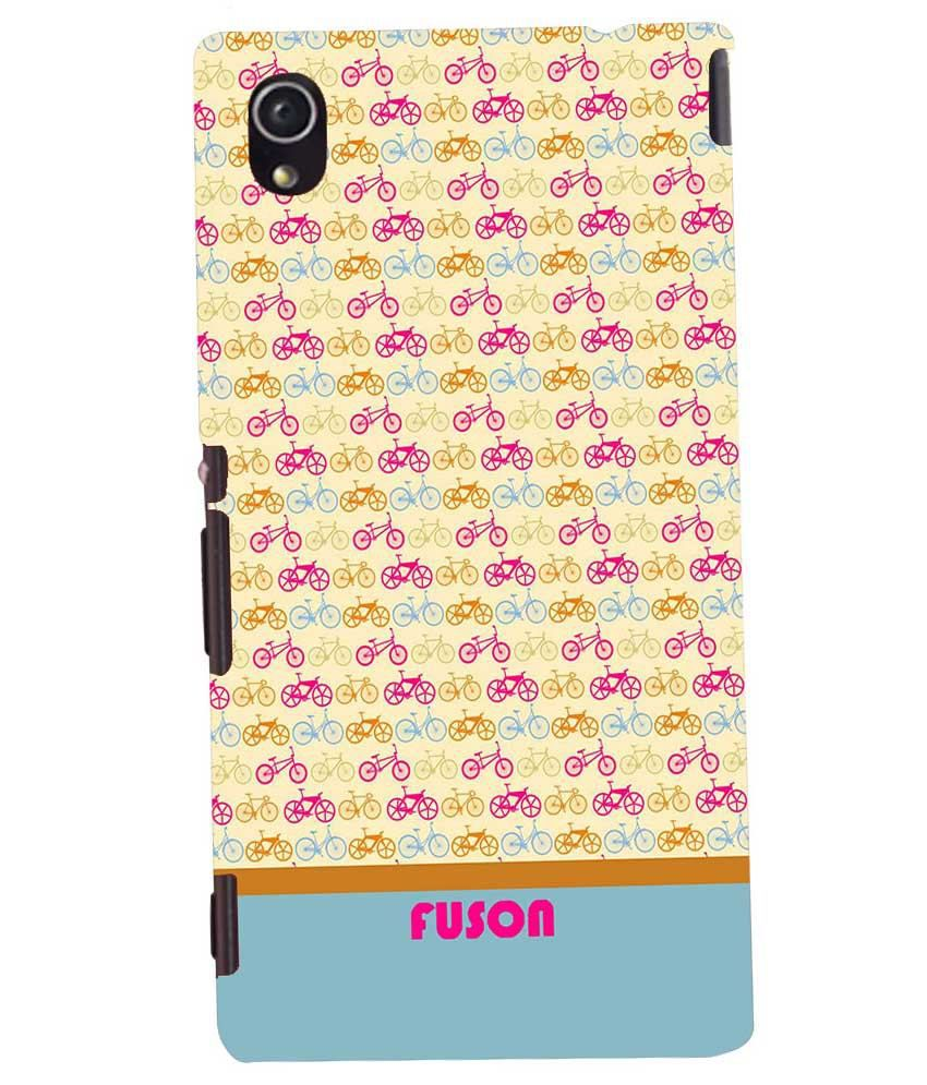 Sony Xperia M4 Aqua Printed Covers by Fuson