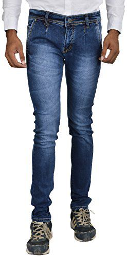 Jeance Blue Slim Fit Jeans