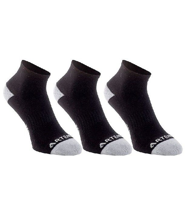 ARTENGO RS 800 Mid Badminton/Tennis Socks Pack Of 3