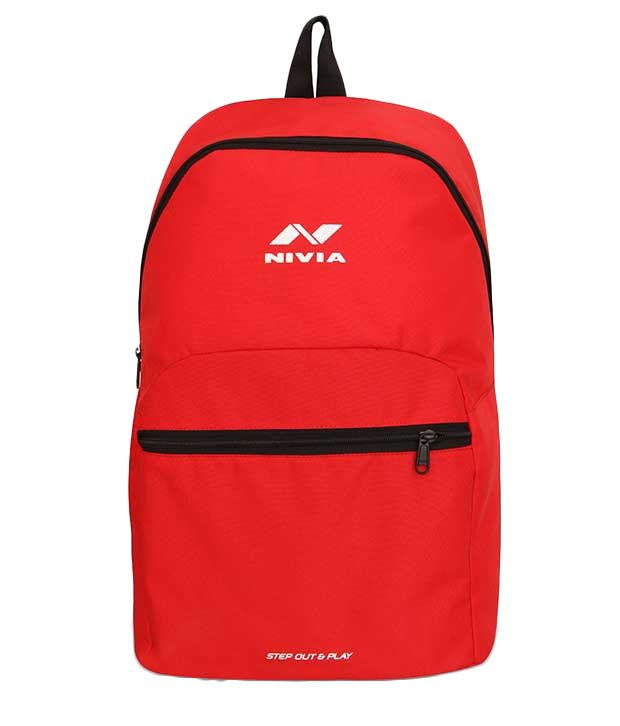 Nivia Red Backpack