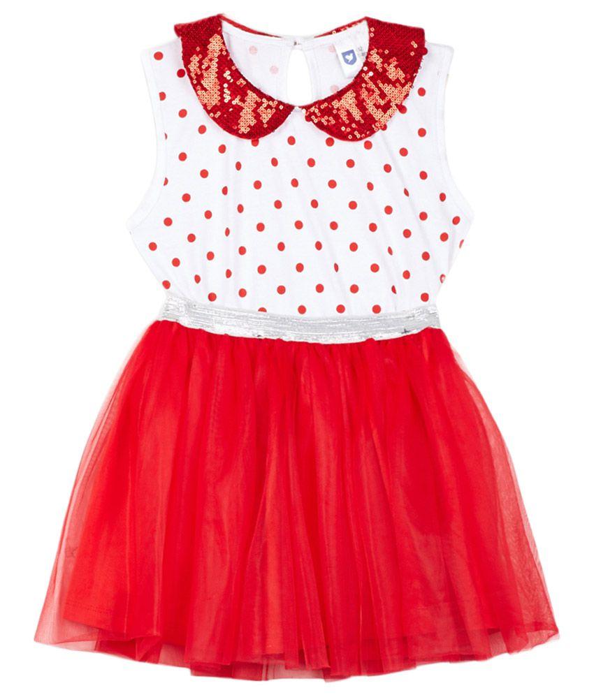 612 League Red Skirt set
