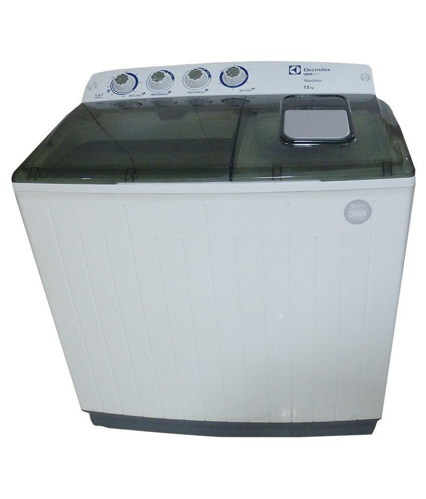 ELECTROLUX 12.0 KG WM ES12EMBL-CME Semi Automatic Top Load Washing Machine BLACK