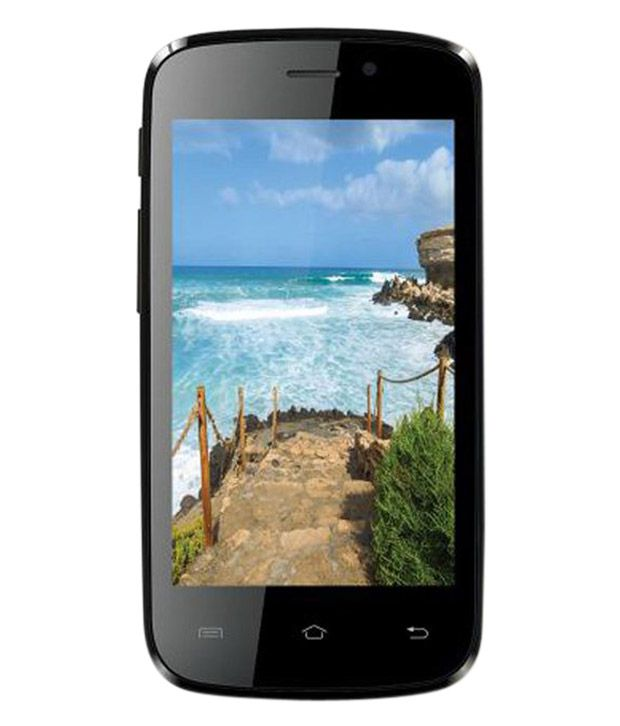Iball Andi 4F Waves 3G Gold & Black Mobile