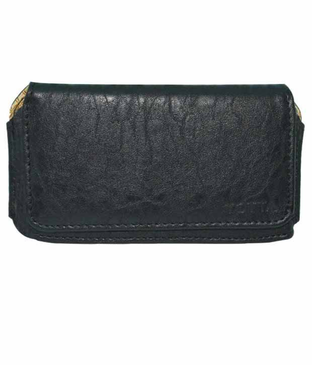 Indiacod Holster Case For For Xolo Win Q1000 - Black