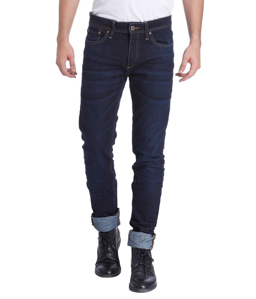 Jack & Jones Blue Slim Fit Jeans